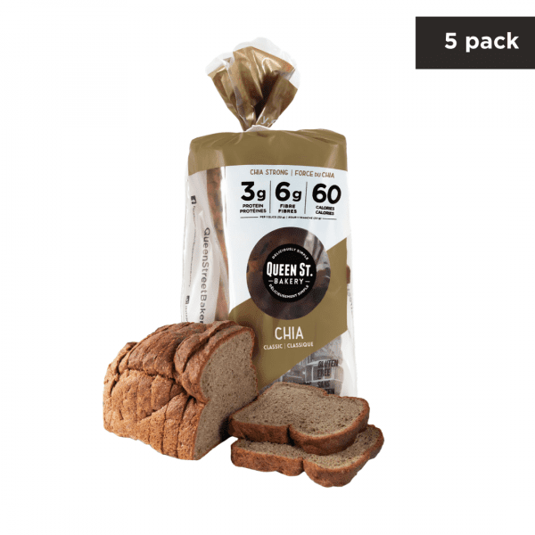 Chia Classic – Box of 5 Loaves
