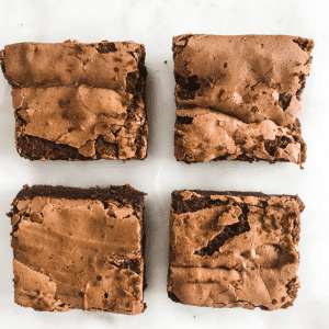 Fudgy Brownie (Gluten Free)